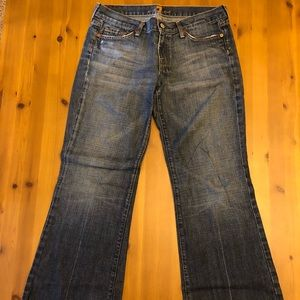 7 for all mankind DOJO style jeans.